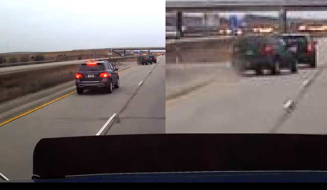 VIDEO_ 'Brake check' crash posted on YouTube under investigation_120413