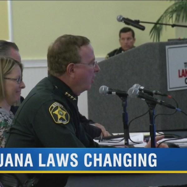 Sheriff Judd encourages Lakeland commissioners to avoid marijuana decriminalization