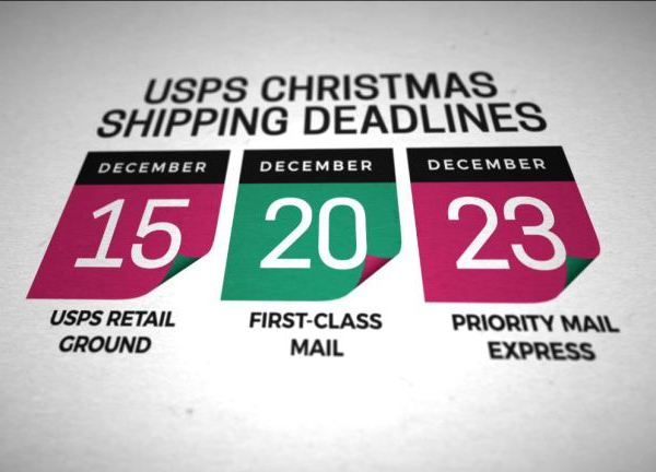 2016 Holiday package shipping deadlines, busiest days_263627