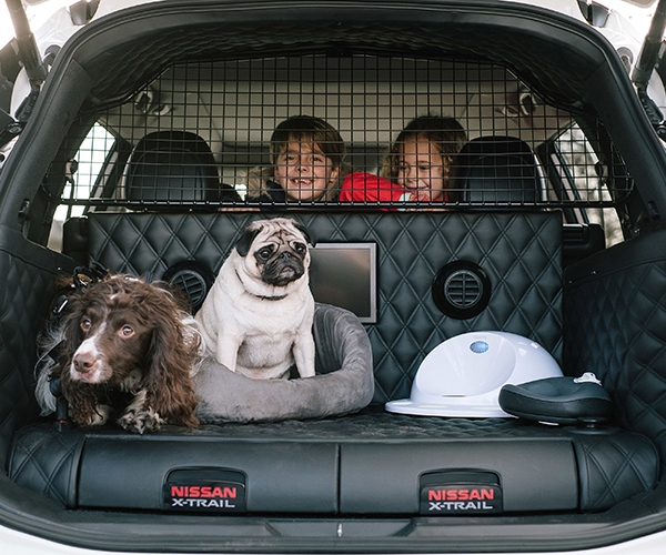 Nissan X-Trail 4Dogs – the 'pawfect' car for family advent_316560