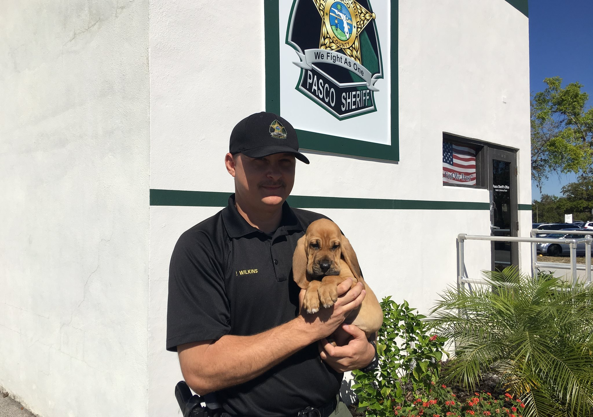 Pasco Sheriff's Office welcomes new K9 officer