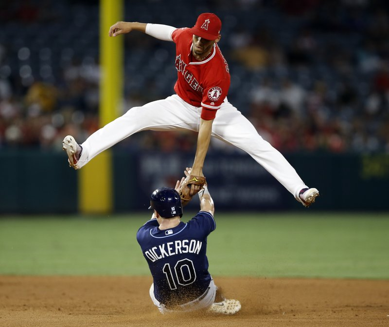 Morrison homers to help Cobb, Rays beat Angels 6-3