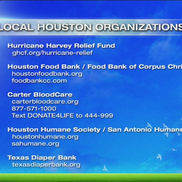 Help Victims of Hurricane Harvey