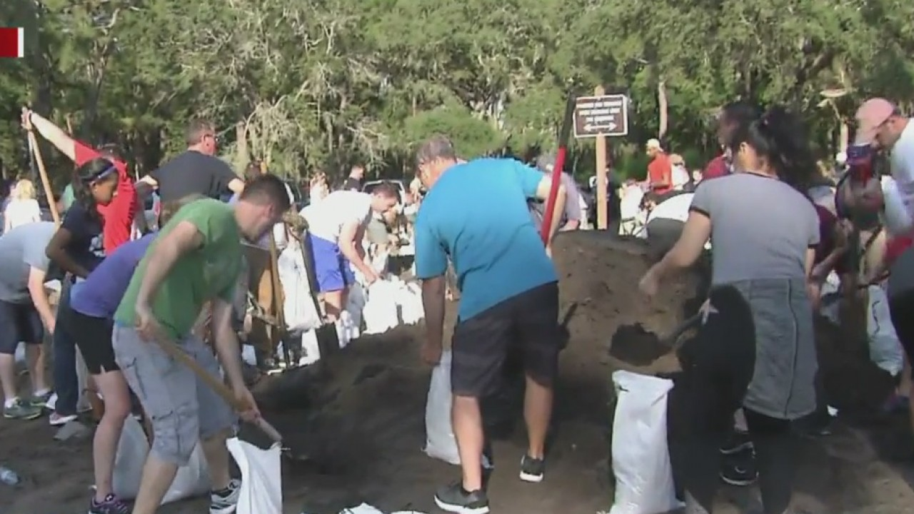 Sandbags in high demand across Tampa Bay
