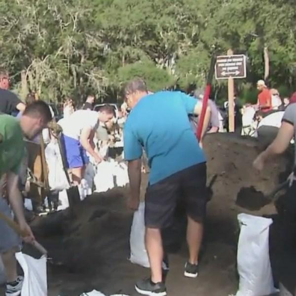 Sandbags in high demand across Tampa Bay