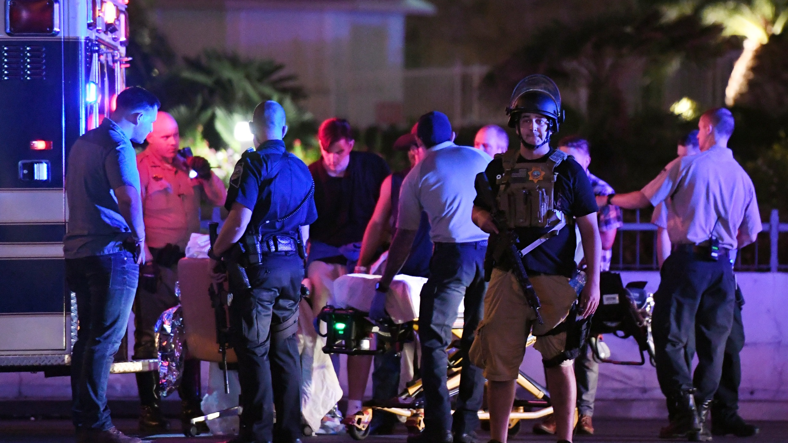Reported Shooting At Mandalay Bay In Las Vegas_464753