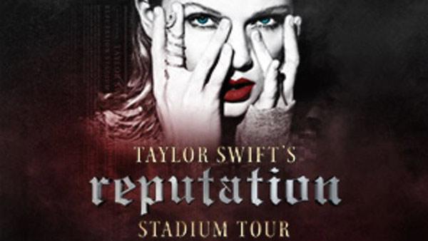 Taylor Swift To Bring Reputation Stadium Tour To Tampa In 2018