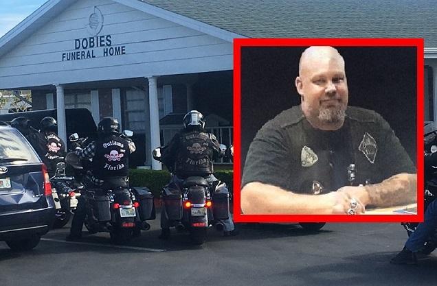 Heavy law enforcement presence expected at slain biker's funeral