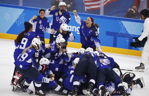 Pyeongchang Olympics Ice Hockey Women_571563