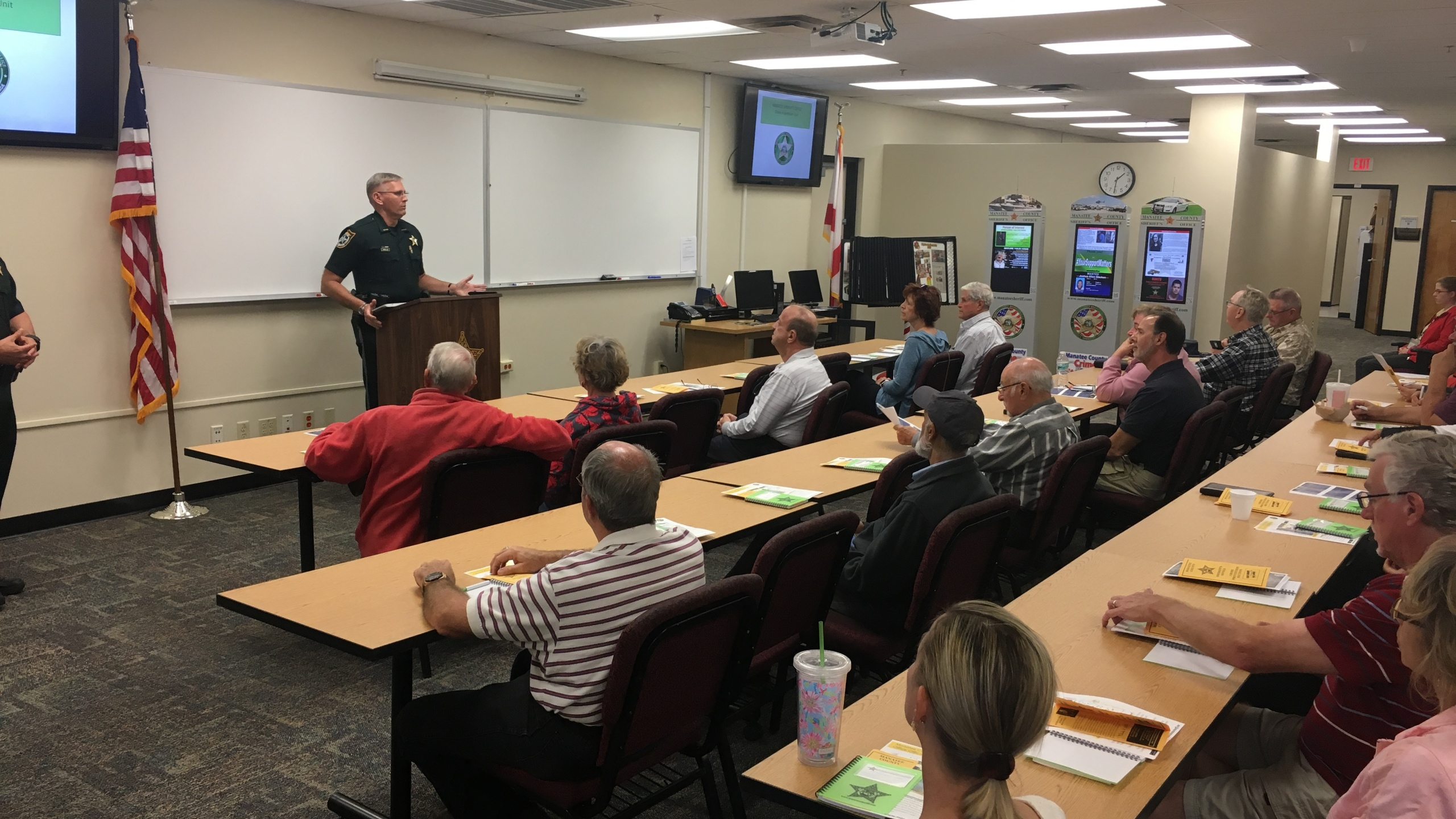 Manatee County Sheriff's Office Active Shooter training
