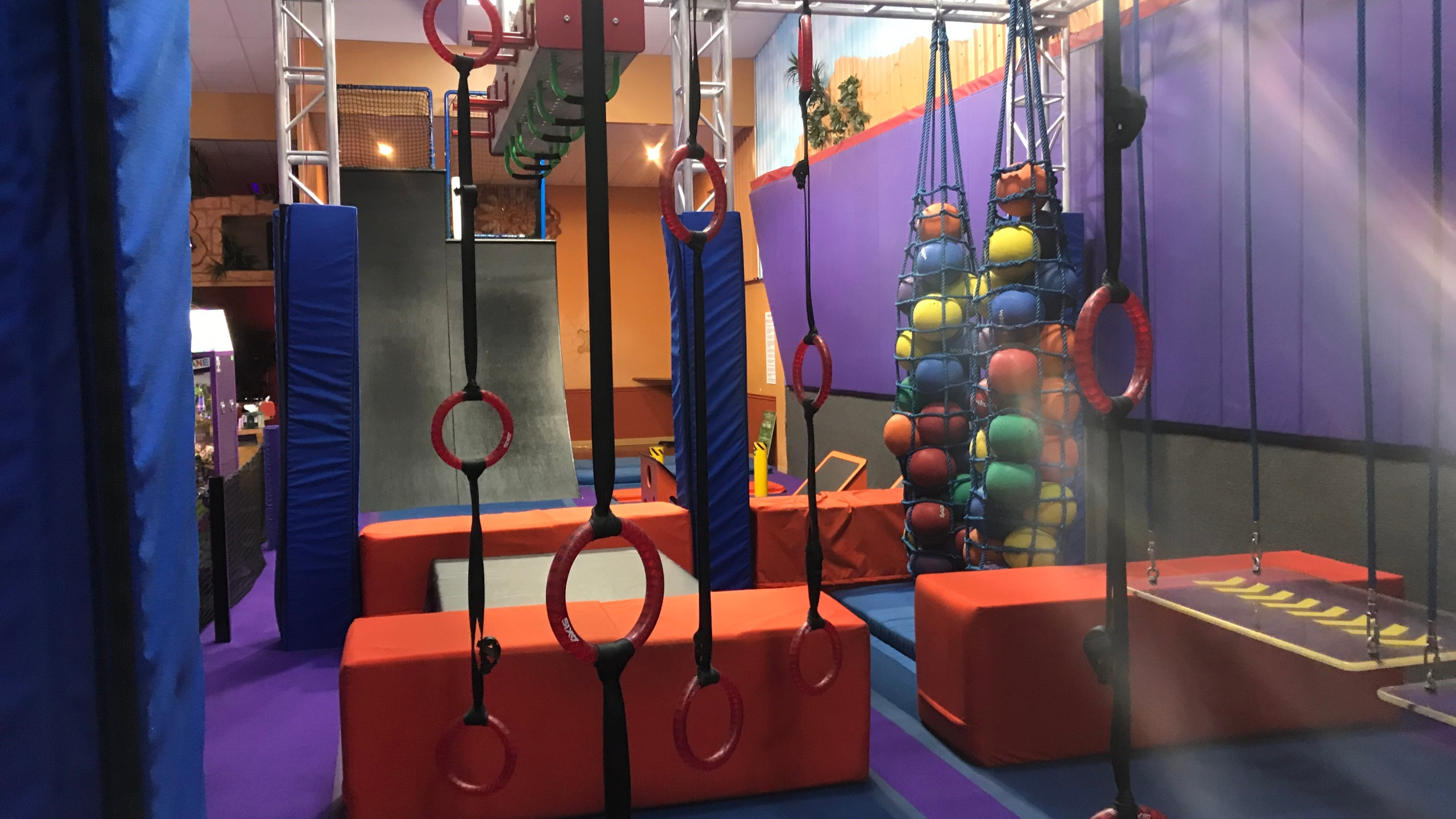 Xtreme Adventures Ninja Warrior course in Lutz