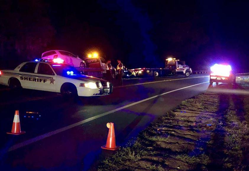 Driver crashes through roadblock, hits Pasco deputy's car