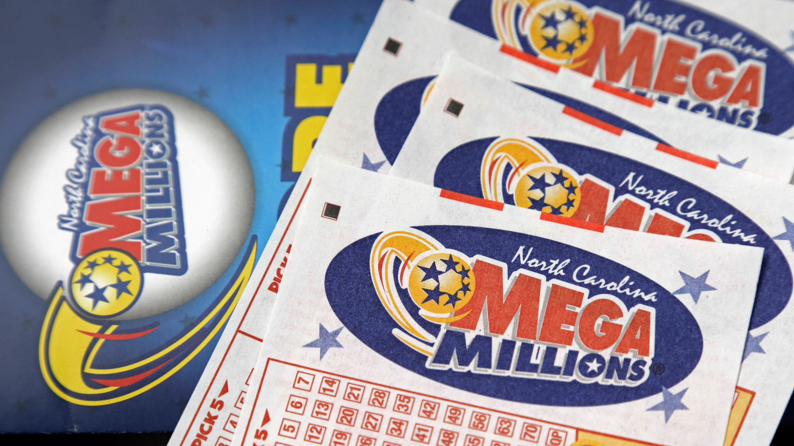 Tuesday's winning Mega Millions numbers drawn