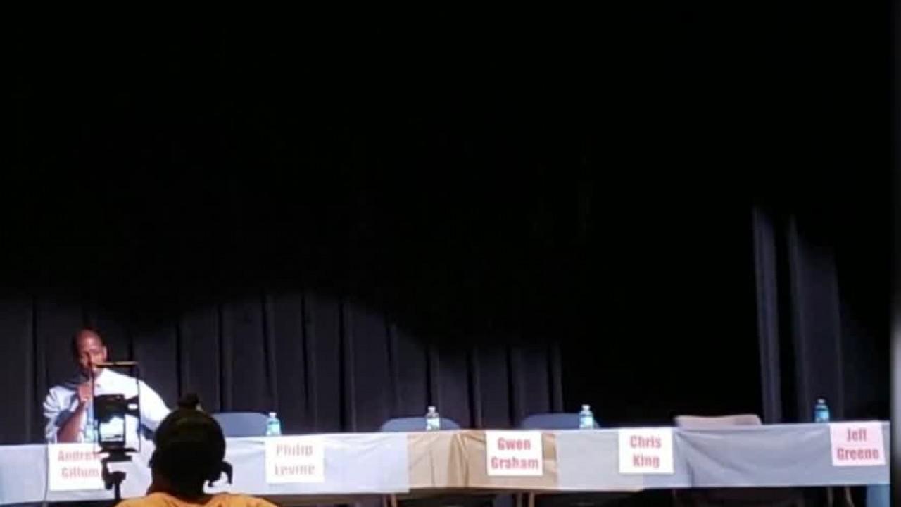 Political forum no shows