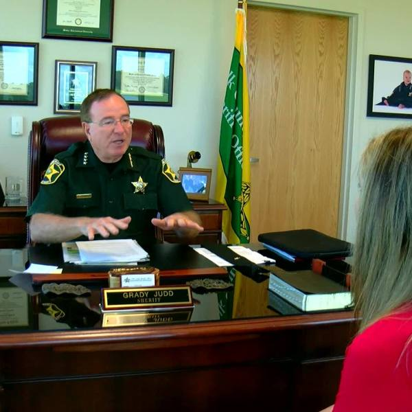 Sheriff Grady Judd outraged over political mailer