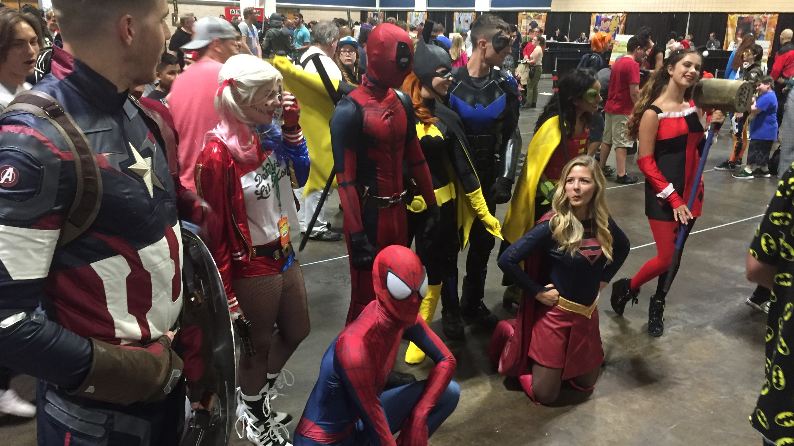 Tampa bay comic con photos
