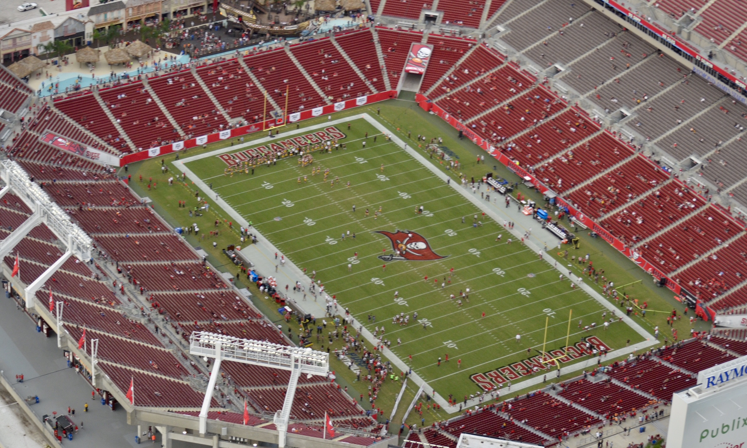 bucs raymond james stadium aerial_452215