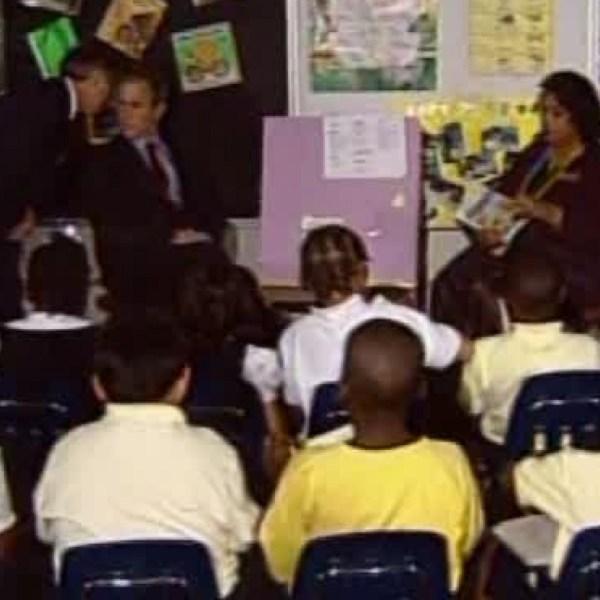 9/11/2001: Bush in Sarasota informed of attacks