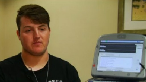 High school junior, former football player, learning to live with heart condition