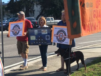 Bay Pines Protest