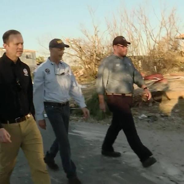 Gov. Scott tours Mexico Beach after Hurricane Michael