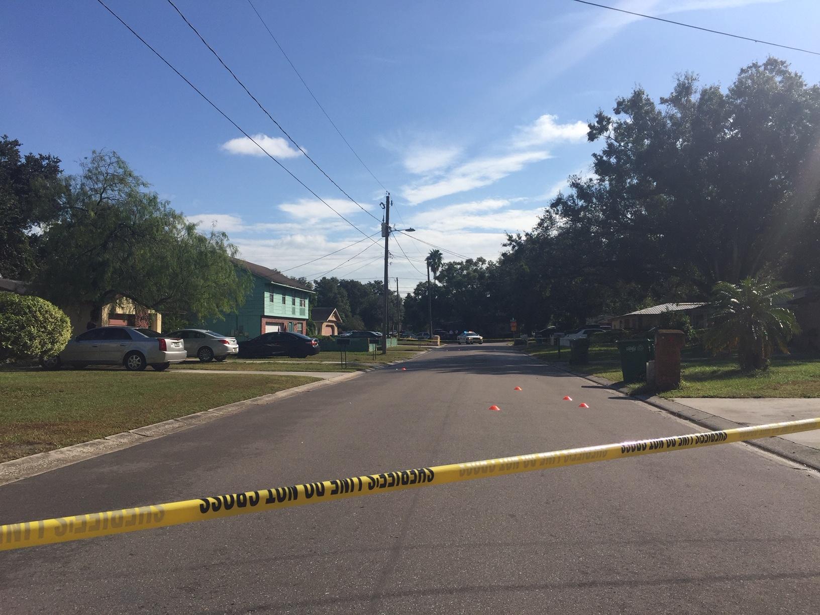 1 person shot in Tampa neighborhood, school on lock-in