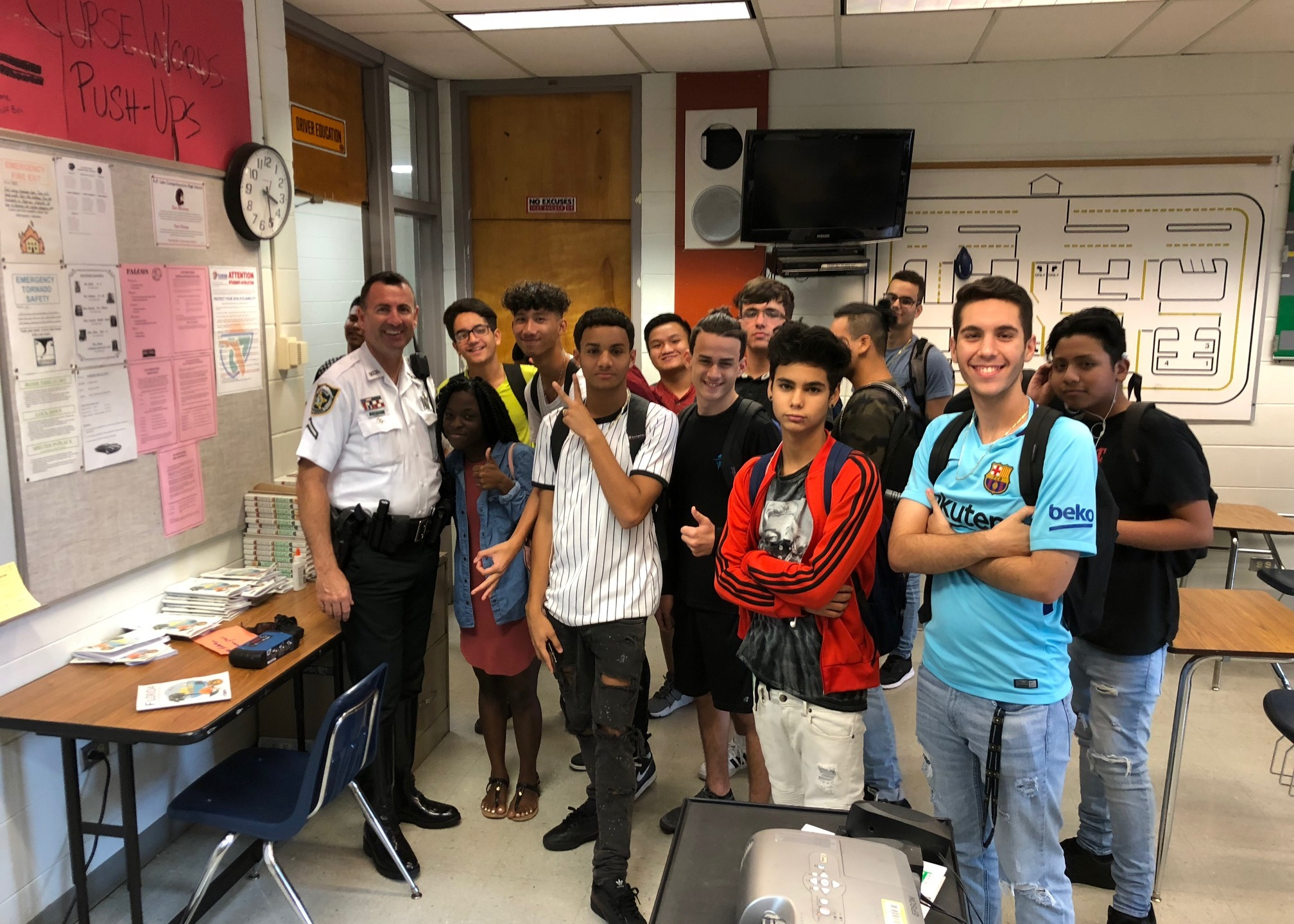 HCSO deputies teach drivers ed