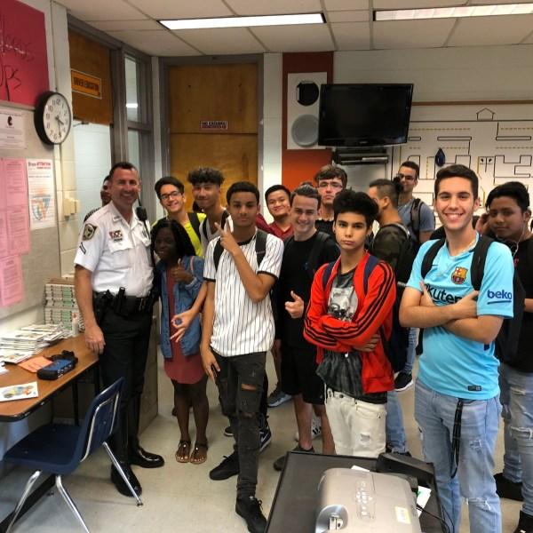 HCSO deputies teach drivers ed