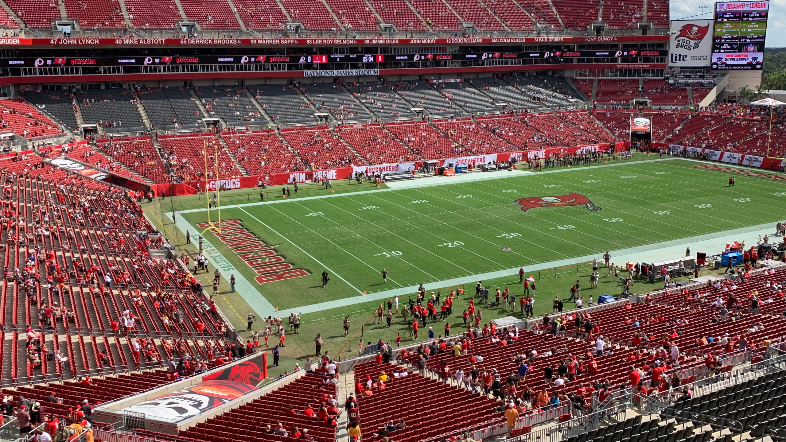 a9730531 Game updates: Redskins vs. Buccaneers