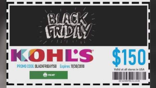 Steer Clear Of Scam Offering 150 Black Friday Coupon From Kohl S