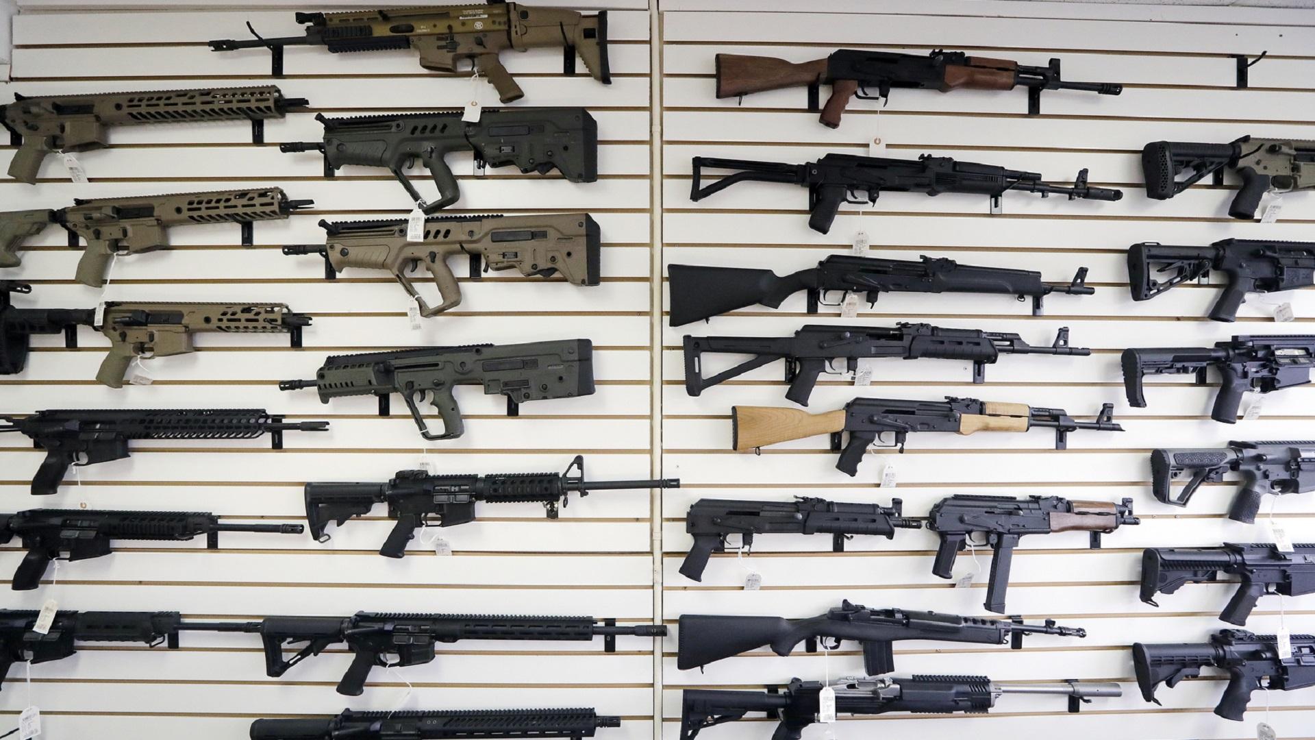 SEMI-AUTOMATIC RIFLES GUNS
