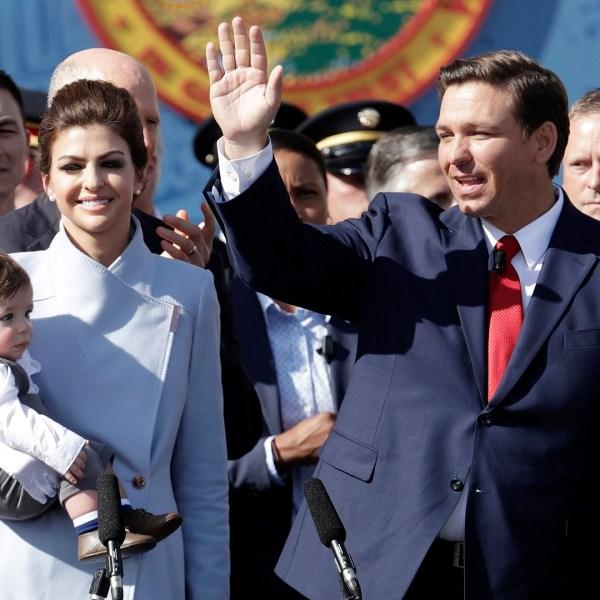 Governor Ron DeSantis Sworn In Florida
