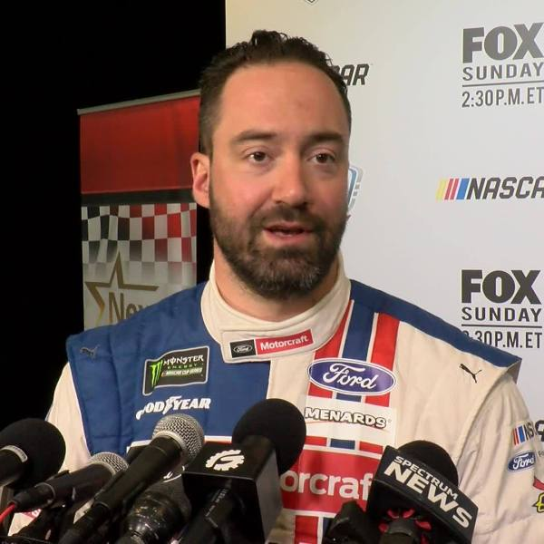 NASCAR's Paul Menard ready to get back on track