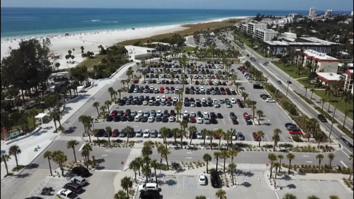 Paid Parking Proposal At Siesta Beach