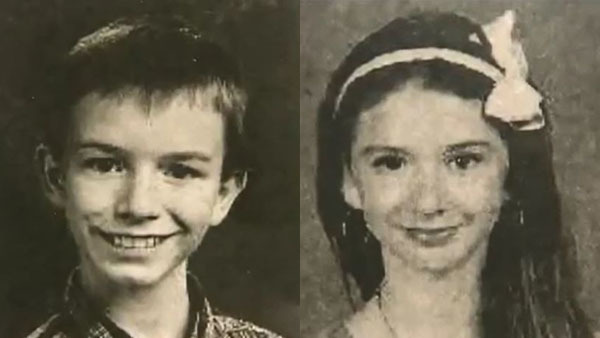 CNN  10 day exp. Story Number:SE-004WETitle:GA: 2 TEENS FOUND BURIED BEHIND FAMILY'S HOMEDescription:Bodies of two teens found in Effingham County, GA; one missing for 2 years and neither ever reported missing; 4 people charged in caseSour