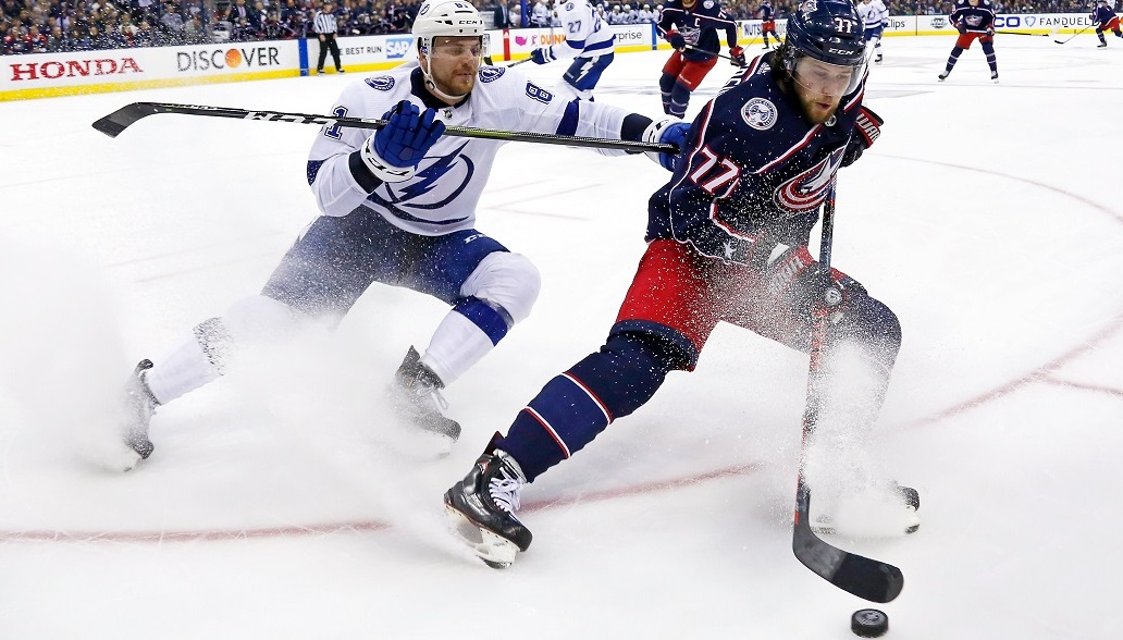 Blue Jackets Move To The Brink Of Sweeping Lightning