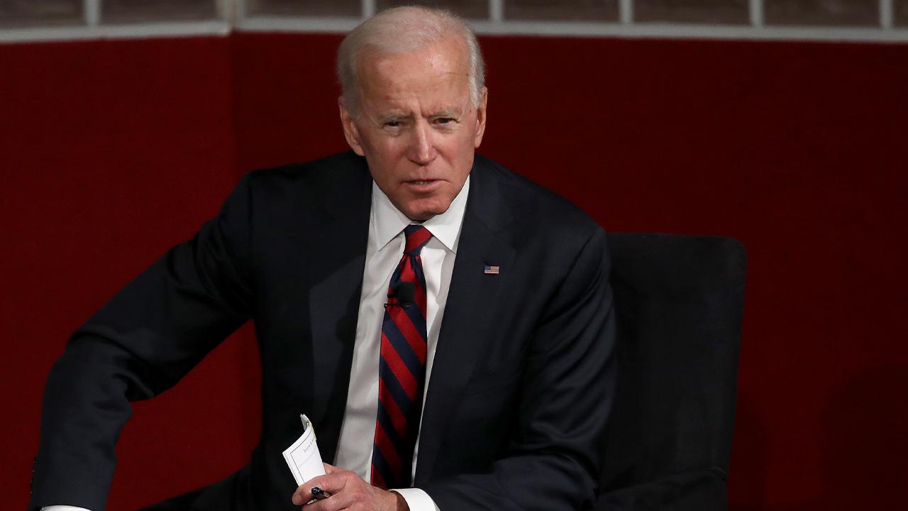 Former U.S Vice president Joe Biden