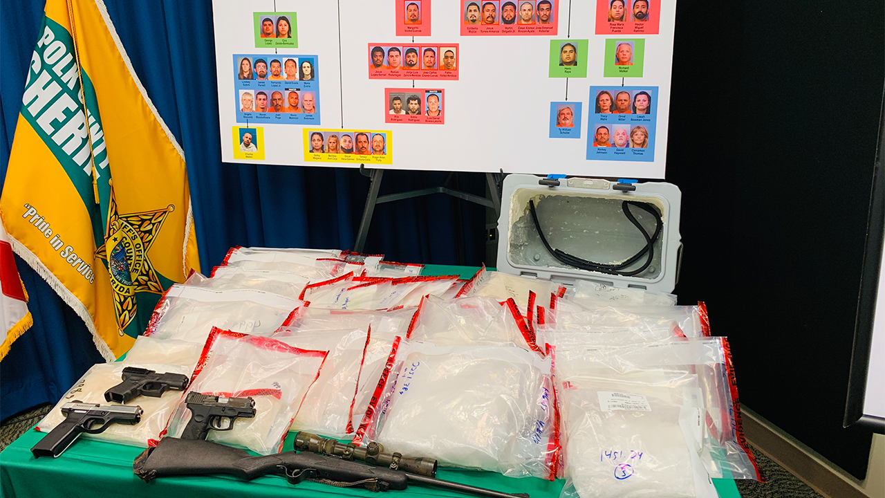 47 charged in undercover meth trafficking investigation in