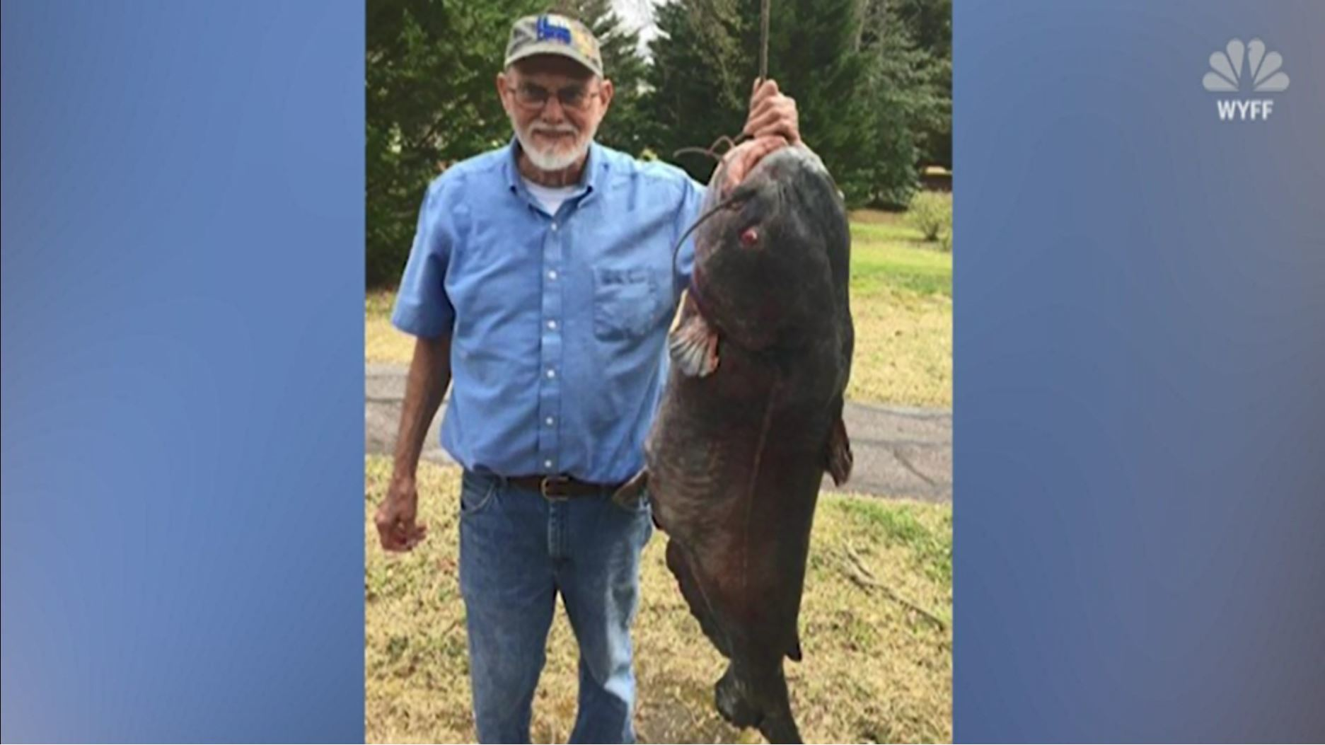 Man reels in 89-lb  catfish in South Carolina