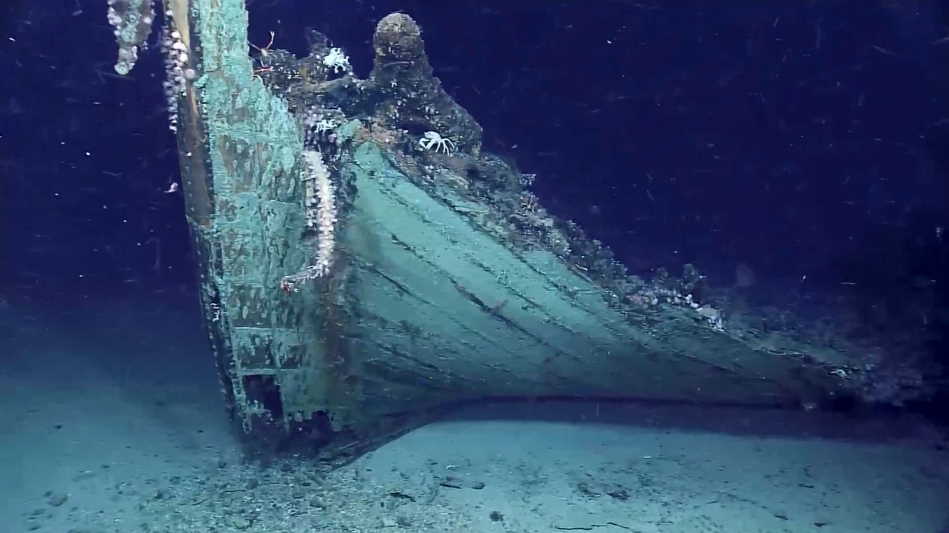 NOAA accidentally discovers mysterious shipwreck from mid-1800s