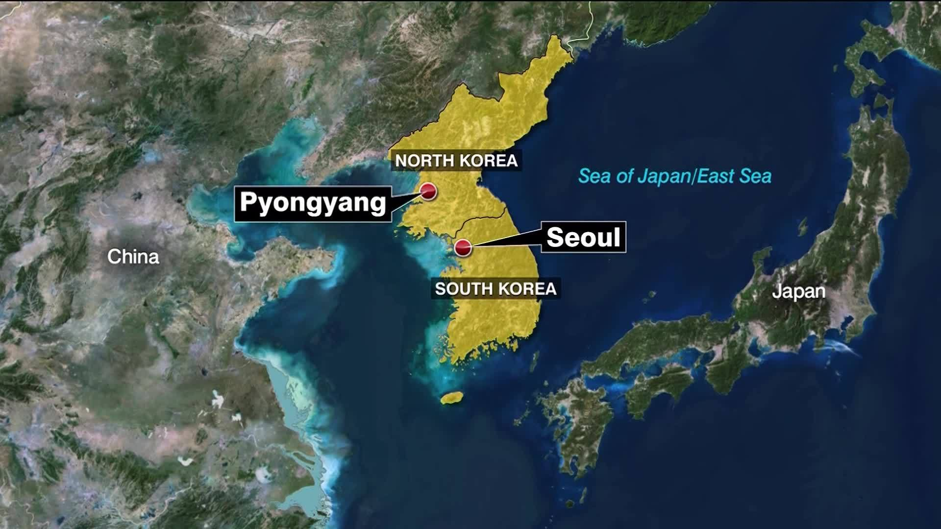 South Korea: North Korea fires unidentified projectile