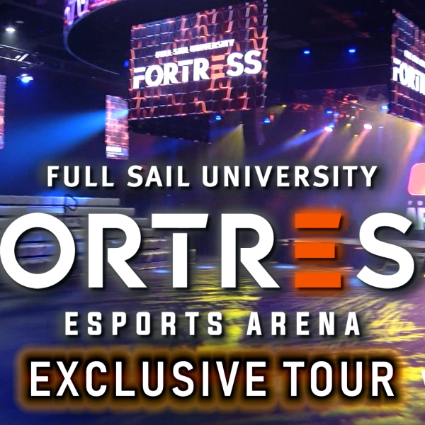 """WFLA.com Exclusive: Tour of """"The Fortress"""" eSports arena at Full Sail University"""