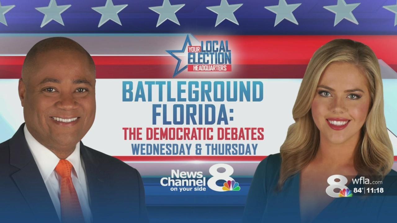 20 Democrats prepare for two-days of presidential debates in Miami