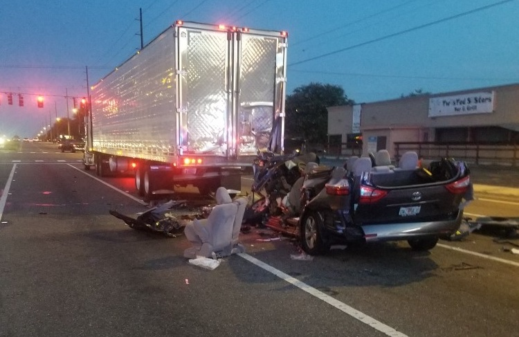 Driver in critical condition after crash with tractor
