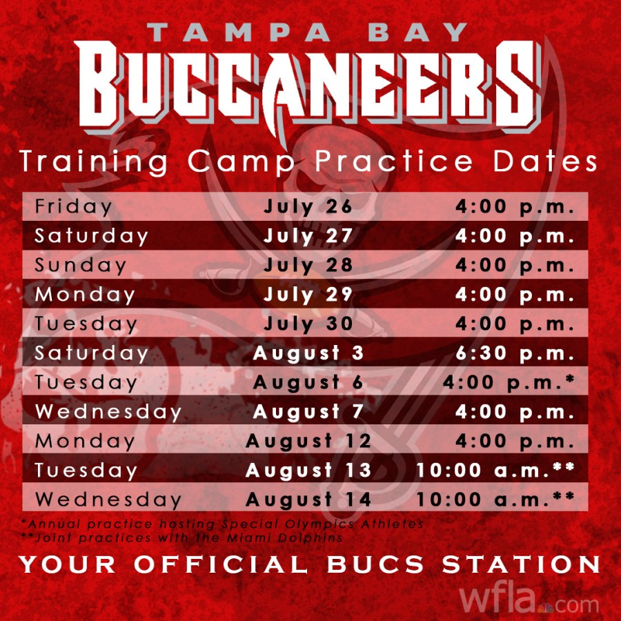 The Best Tampa Bay Buccaneers Schedule