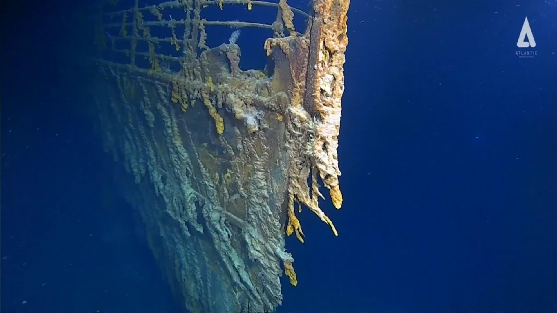 New 4K images of Titanic released after first manned dive in