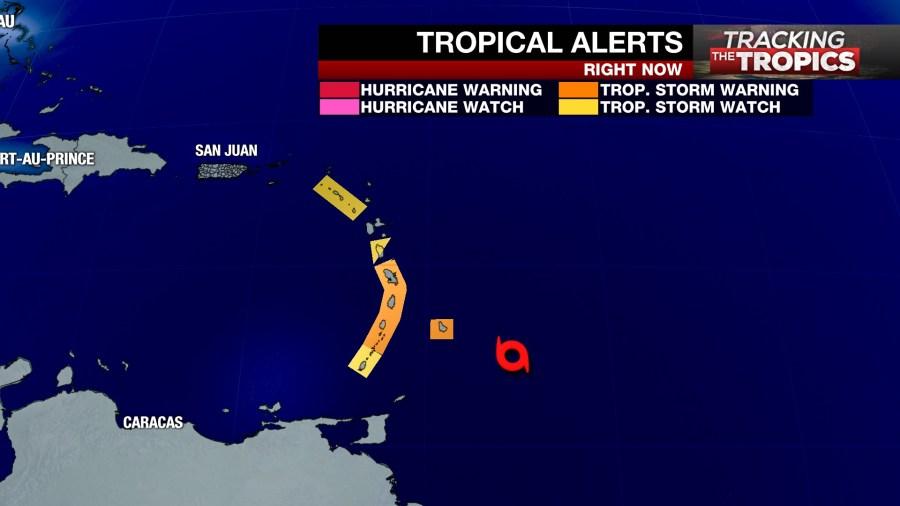 Tracking the Tropics: Dorian forecast to be slightly
