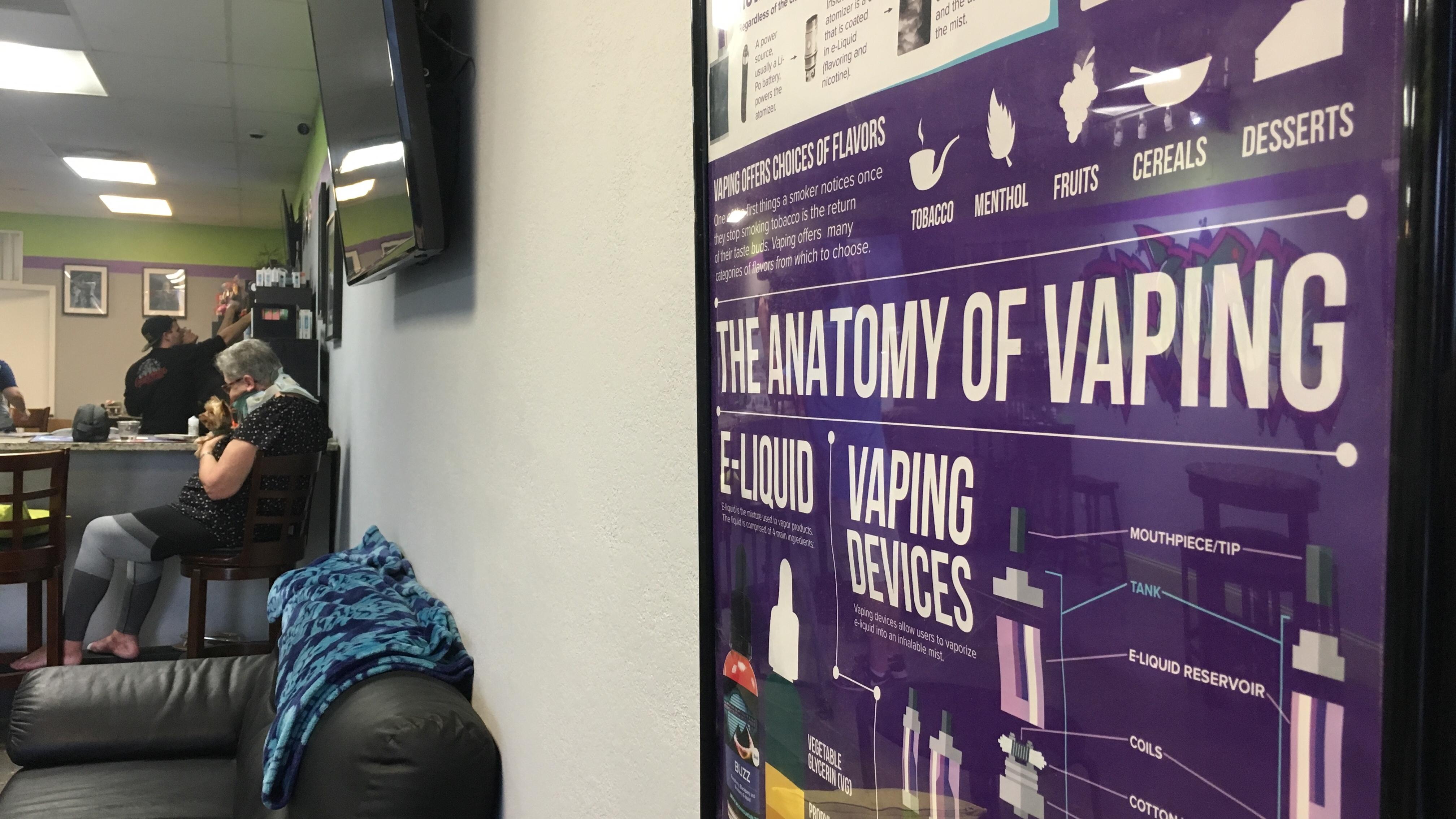 Tampa vape shop fights stigma after CDC e-cigarette warning