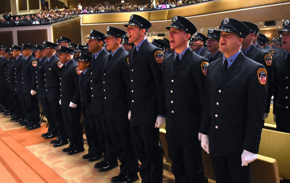 Children of 13 firefighters killed on 9/11 join FDNY