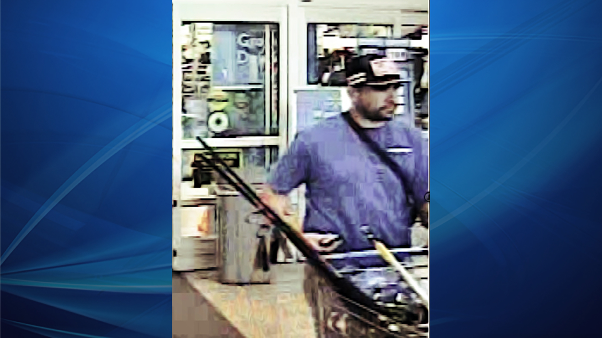 Police searching for stolen Walmart fishing gear thief in